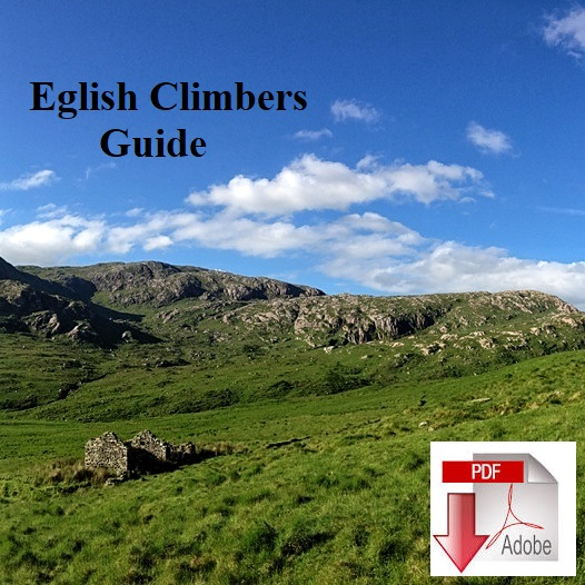 Eglish Rock Climbers guidebook